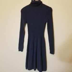 ABERCROMBIE & FITCH | Sweater Dress M Blue